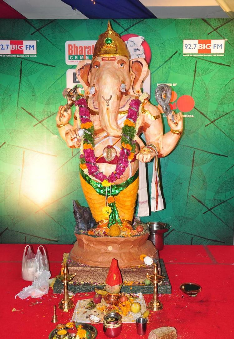 Green Ganesha Event Pic