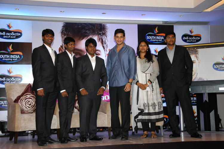 Mahesh Babu Photo Shoot During The Launch Of South India Shopping Mall