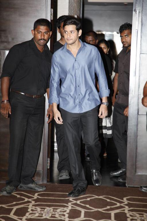 Mahesh Babu Spotted at South India Shopping Mall Launch