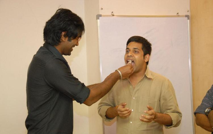 Manchu Vishnu In Denikaina Ready Audio Premiere Launch At 98.3 FM