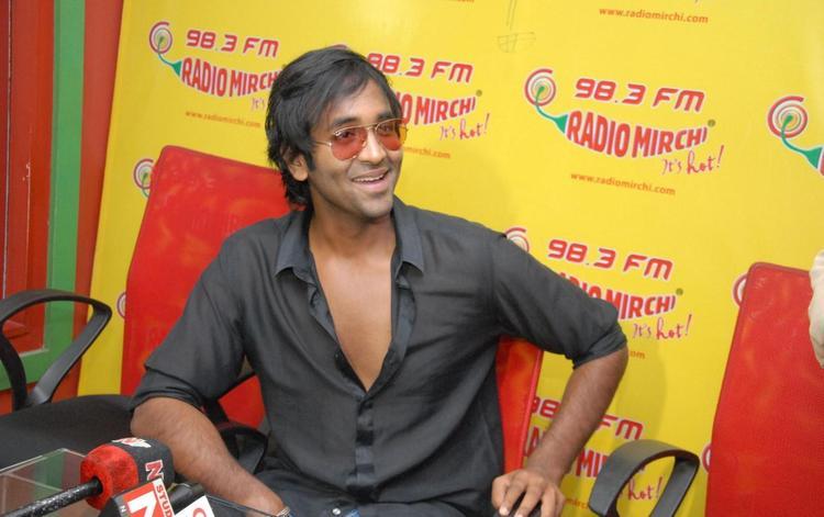 Manchu Vishnu Launches His Upcoming Movie Denikaina Ready Audio At Radio Mirchi 98.3 FM