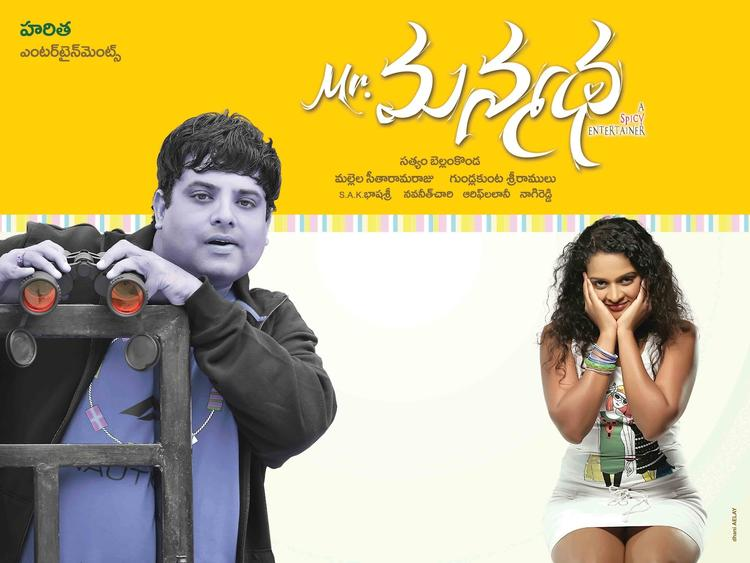 Telugu Movie Mr Manmadha Poster