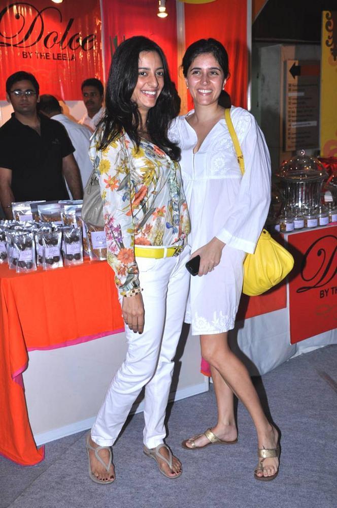 Aneesa And Farah At Sahachari Foundation Annual Shopping Festival