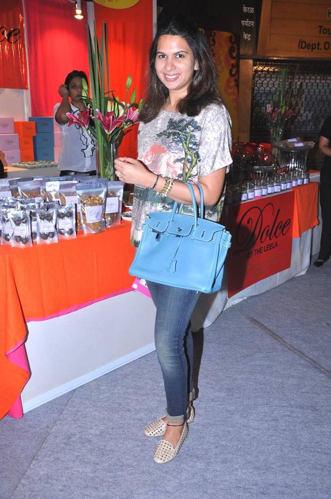Laila Mallya At Sahachari Foundation Annual Shopping Festival