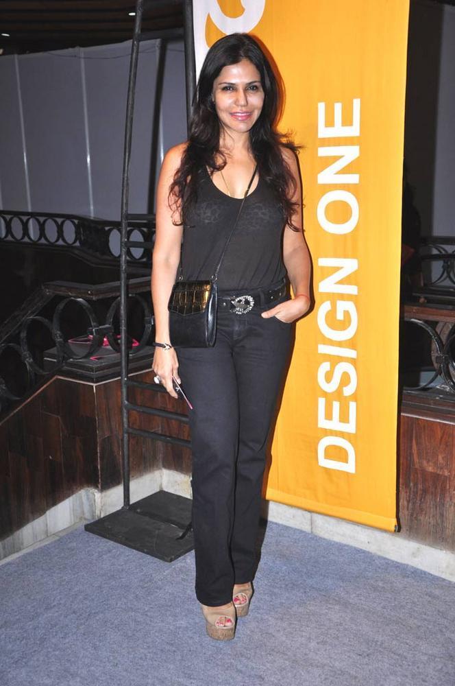 Nisha Jamwal At  Design One Shopping Festival In Mumbai