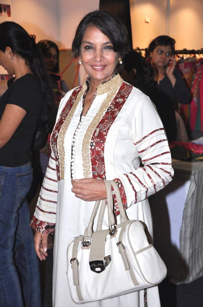 Shabana Smiling Look At Sahachari Foundation Shopping Festival