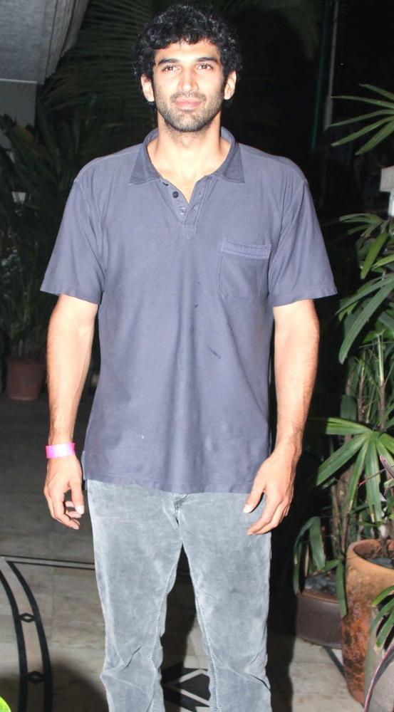 Aditya At Ranbir Kapoors 30th Birthday Bash