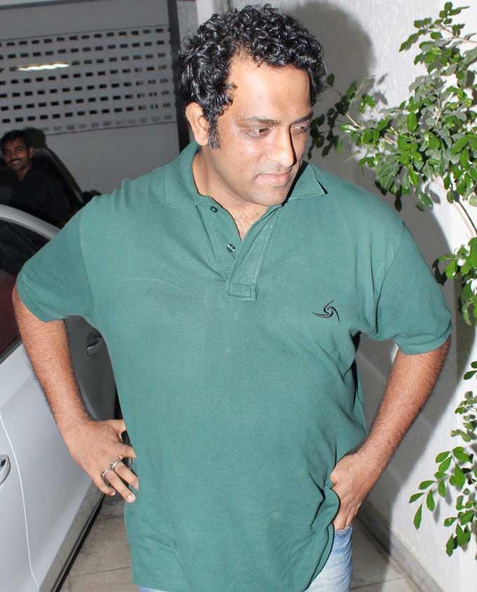Anurag Basu Snapped At Ranbir Kapoors 30th Birthday Party
