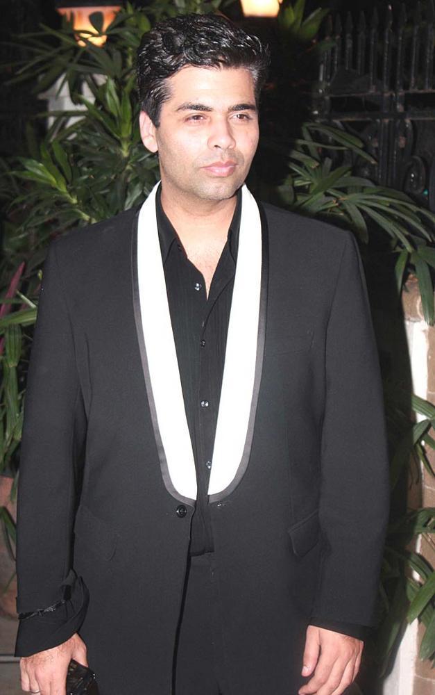 Karan Johar At Ranbir Kapoors 30th Birthday Bash