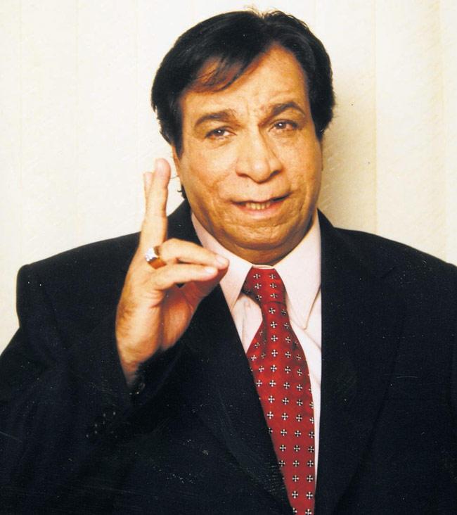 Bollywood Most Popular Comedian Kader Khan Photo