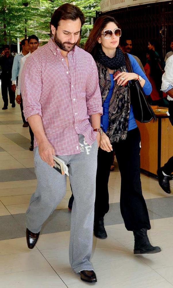 Saifeena Spotted At Mumbai International Airport