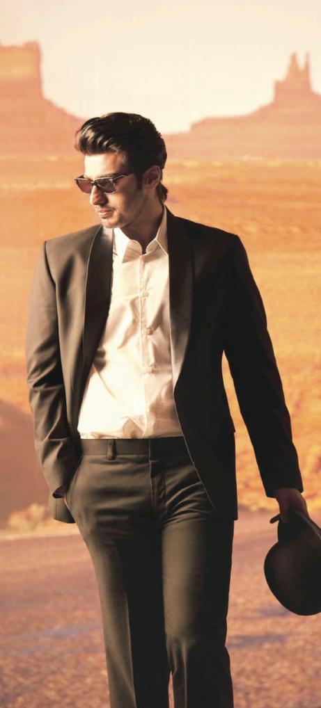 Arjun Kapoor Hot Stylish Pose For Filmfare Oct 2012