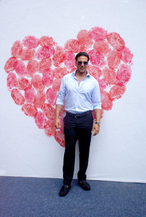 Akshay Kumar During A Function Organised To Happy Heart Carnival