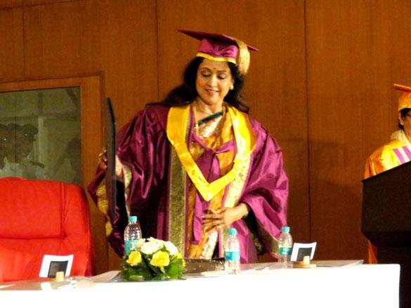 Hema Malini Gets Her Honorary Doctorate Image