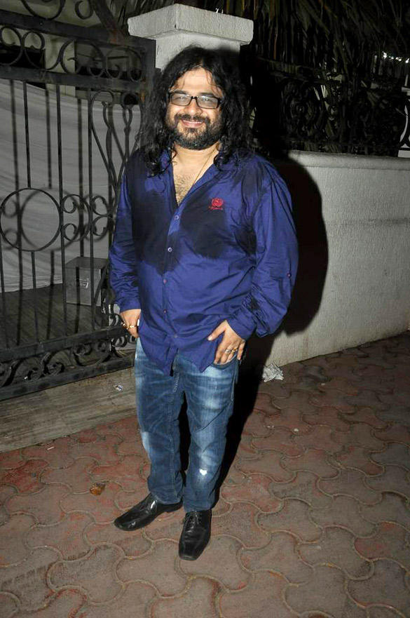 Pritam Chakraborty During Ranbir Kapoor 30th Birth Bash