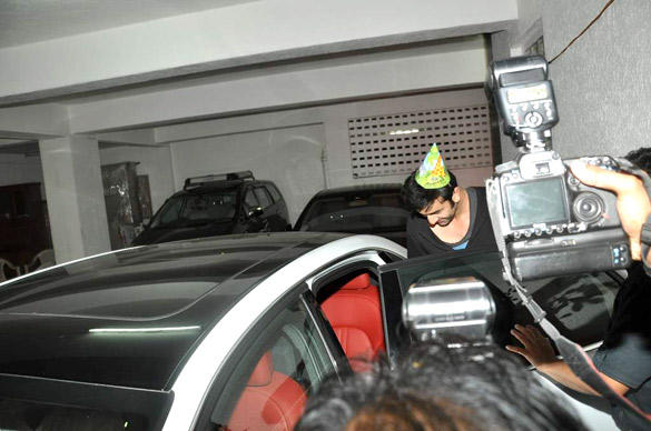 Ranbir Kapoor Celebrates His 30th Birthday Bash at His Residence