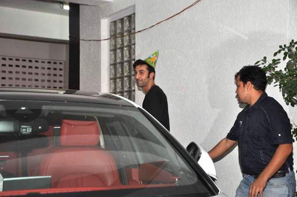 Ranbir Kapoors 30th Birthday Bash Pic