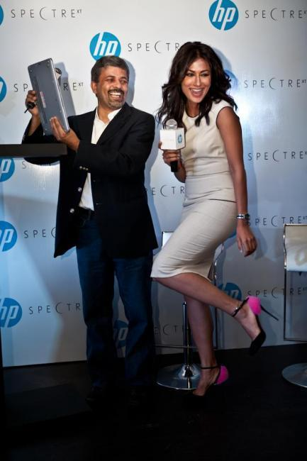 Chitrangada Singh At Lauch Of HPs New Range Of Envy Laptops