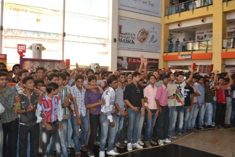 The Students Of IIT Kanpur Gathered During The Promotion Of SOTY