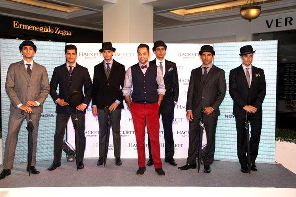 Abhay Deol At The Hackett London Launch