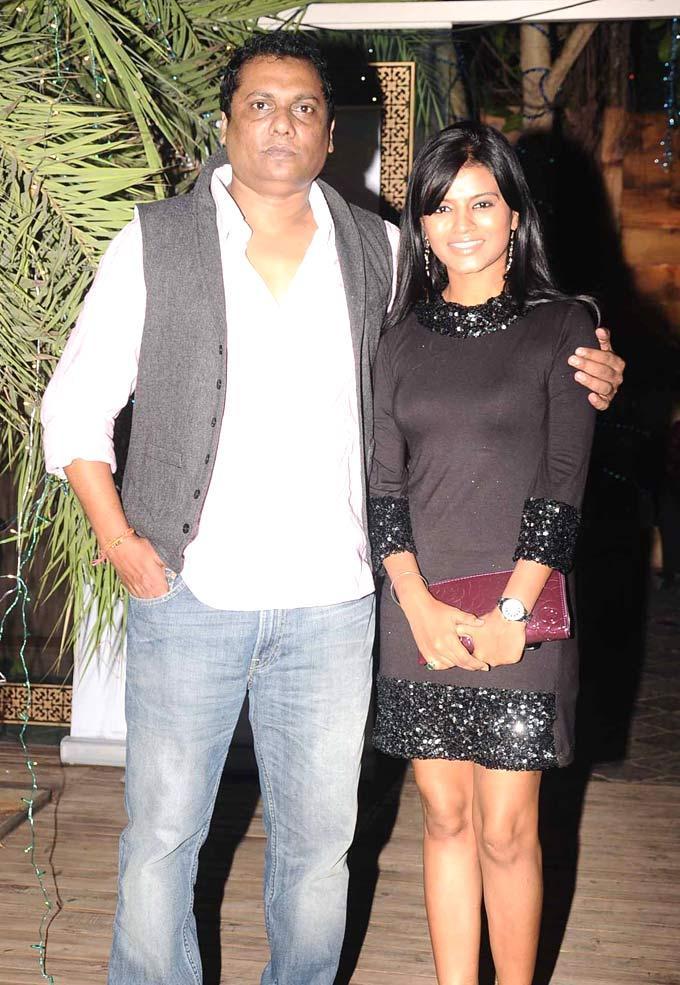 Raakesh With Mitali At Afsar Bitiya Success Party