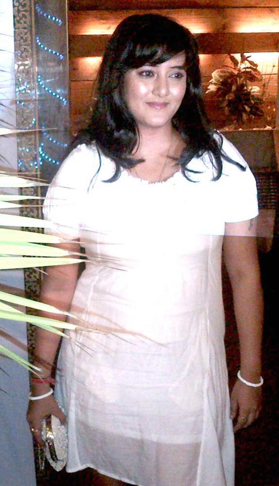 Smita Singh At Afsar Bitiya Success Party