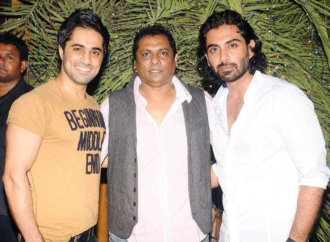 Vishal,Raakesh And Rohit At Success Bash Of Afsar Bitiya In Mumbai