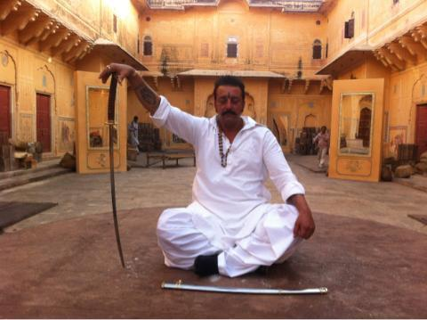 Sanjay Dutt A Still From His Upcoming Movie Sher