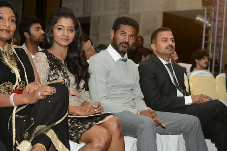 Aruna and Prabhu Deva at Audi Ritz Icon Awards 2012
