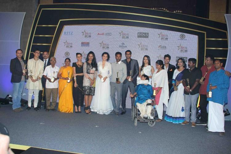 Celebrities at Audi Ritz Icon Awards 2012 Event