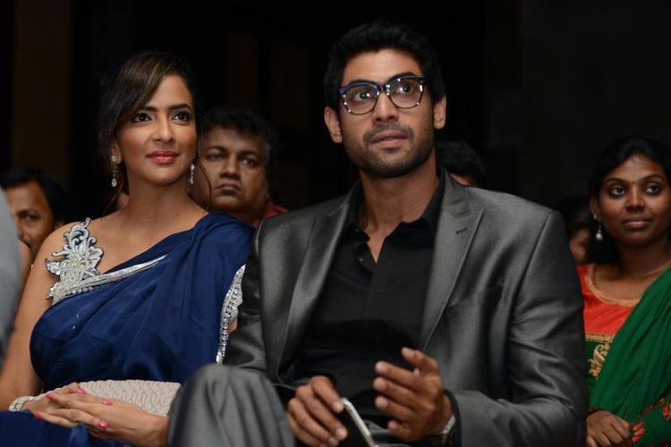 Rana and Lakshmi A Still at Audi Ritz Icon Awards 2012