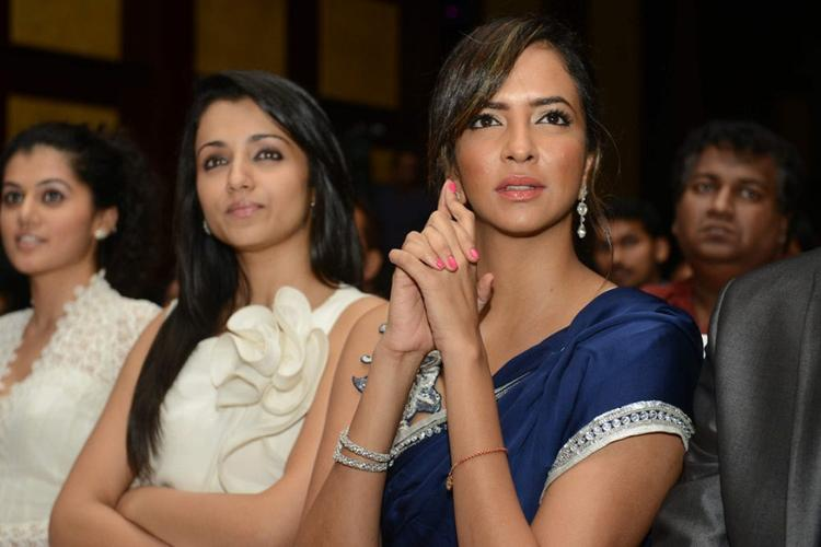 Trisha,Lakshmi and Taapsee at Audi Ritz Icon Awards 2012 Event