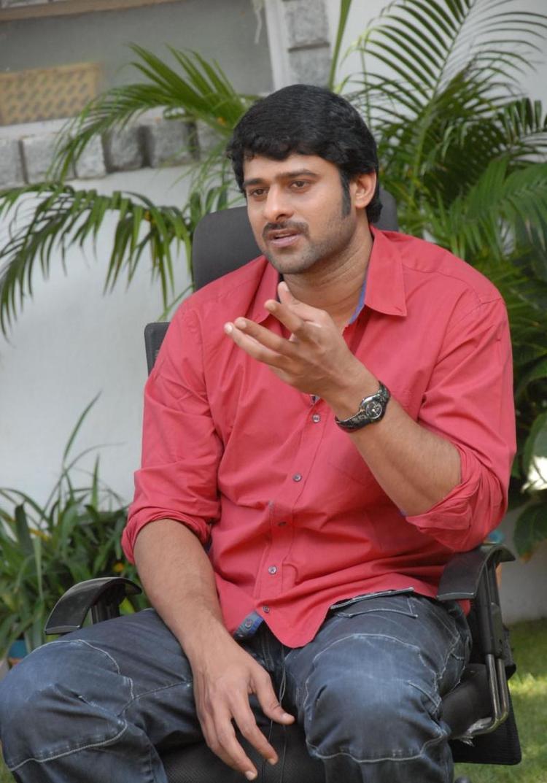 Prabhas At Rebel Movie Press Meet