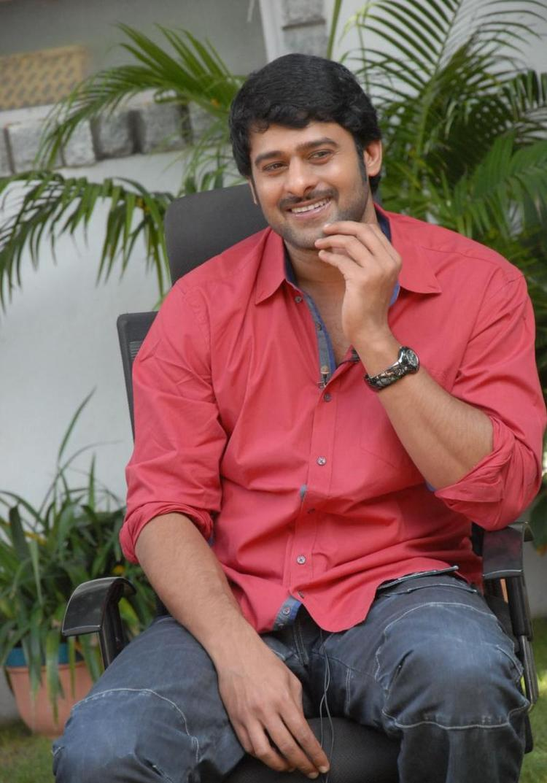 Prabhas Sweet Still At Rebel Movie Press Meet