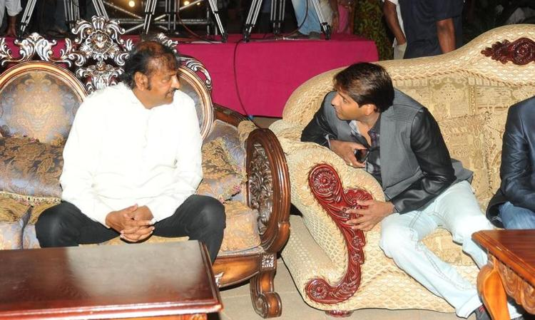 Mohan Babu at Denikaina Ready Audio Release Event