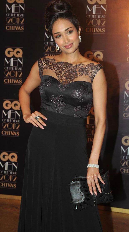 Jiah Khan At The GQ Men Of The Year Awards 2012