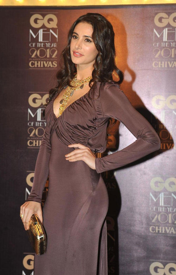 Nargis Fakhri in Roberto Cavelli at GQ Men Awards 2012