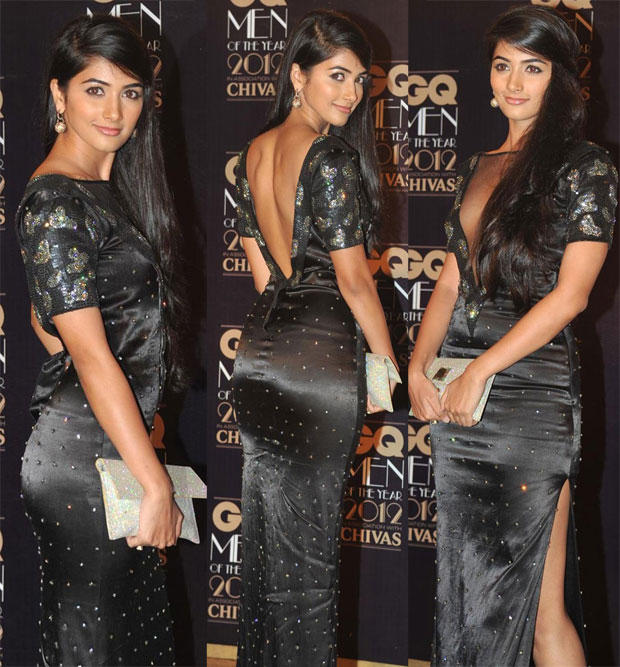 Pooja Hegde Sexy Pose During GQ Men Of The Year Awards 2012