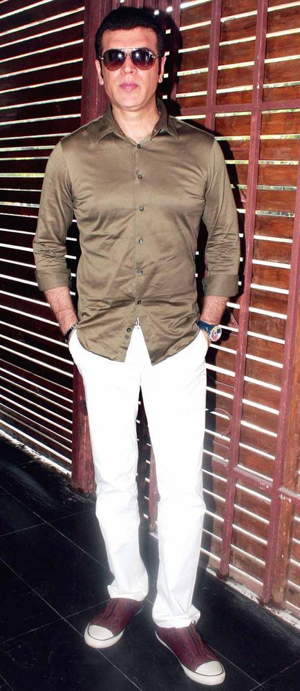 Aditya Pancholi at Shatranj Napoli and Polpo Cafe and Bar Launch Event