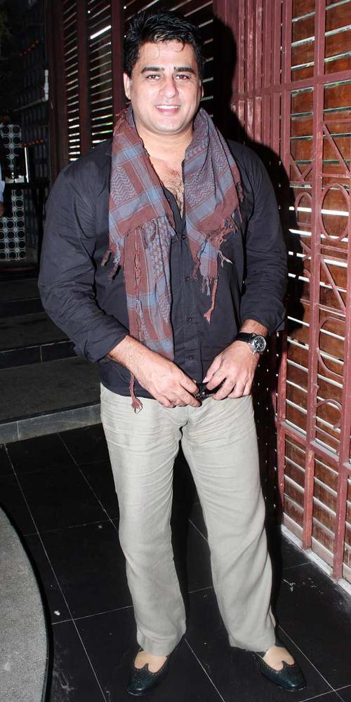 Ayub Khan at Shatranj Napoli and Polpo Cafe and Bar Launch Event