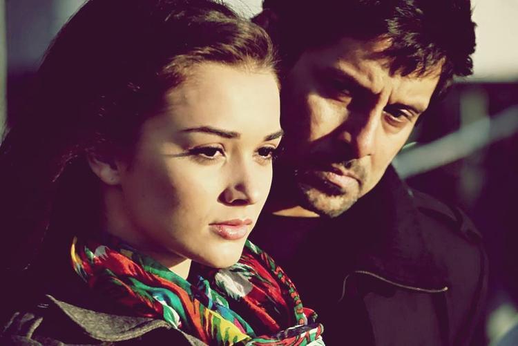 Amy Jackson and Anushka Hot Photo From The Movie Thandavam