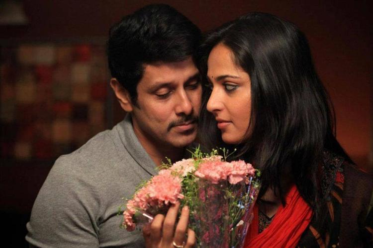 Vikram and Anushka Hot Romance Still In Thandavam Movie