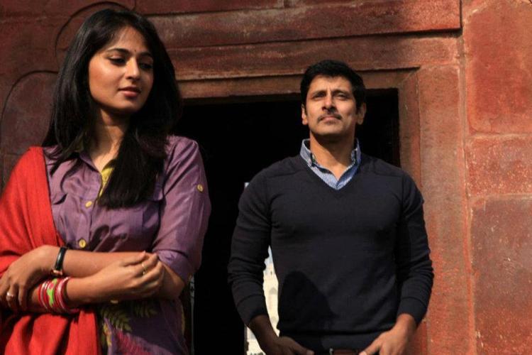 Vikram and Anushka Shetty Thandavam Movie Latest Still