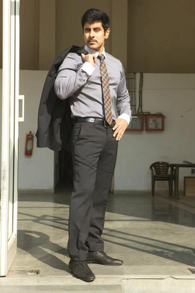 Vikram Stylish Photo From Thandavam Movie