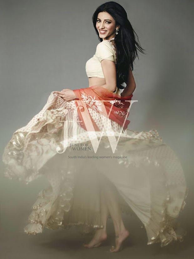Glamour Girl Shruti Hassan In JFW Magazine