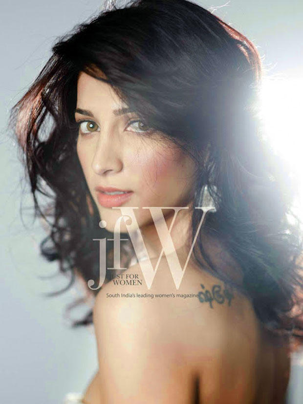 Shruti Hassan Clicked Sexy Photo For JFW Magazine