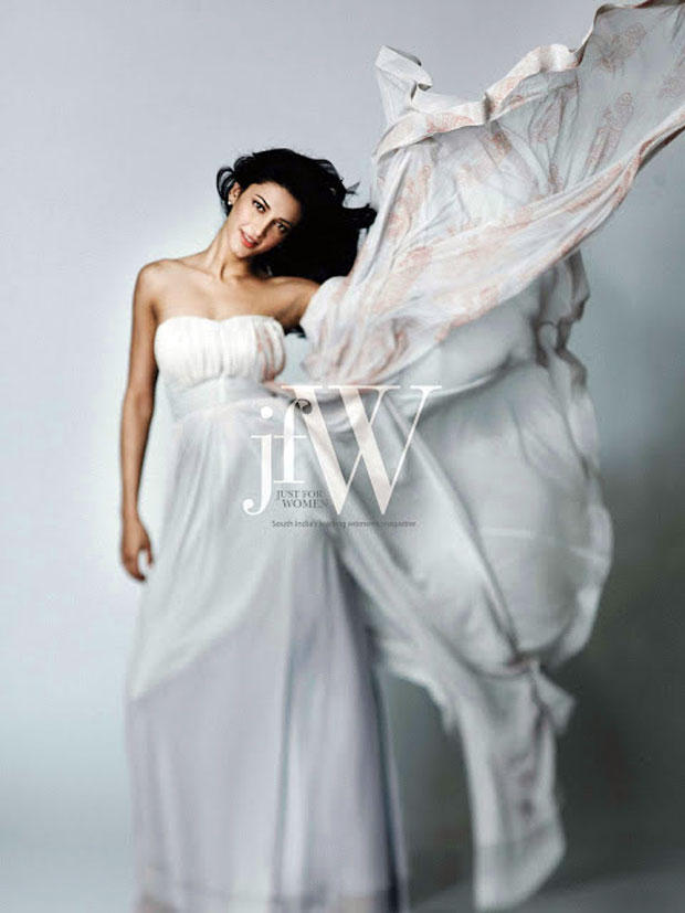 Shruti Hassan Exclusive Photo Shoot For JFW Magazine