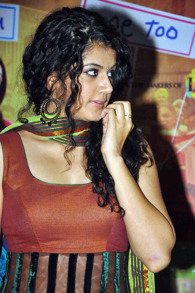 Taapsee Pannu Cute Still At A Recent Event
