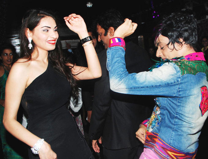 Shalika Sharma and Rohit Verma Shake A Leg at Shalikas Birthday Bash