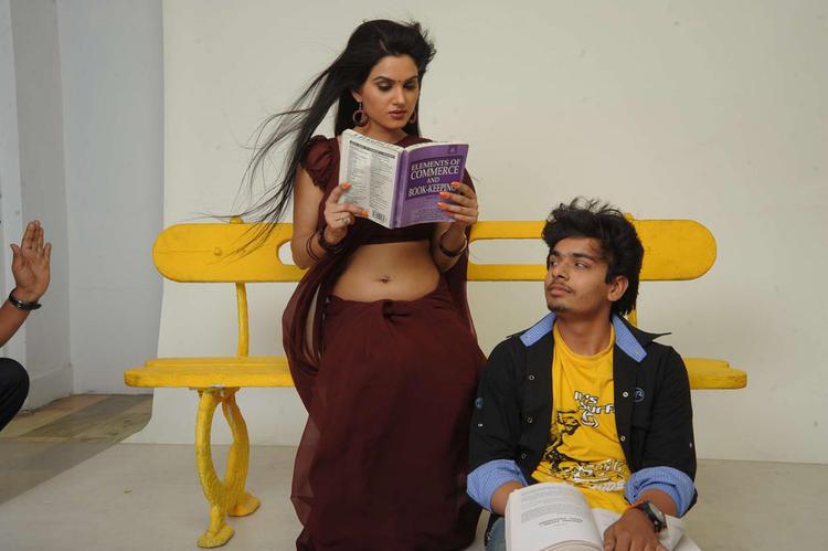 Aaryaman And Kavya In Their Upcoming Movie Sorry Teacher